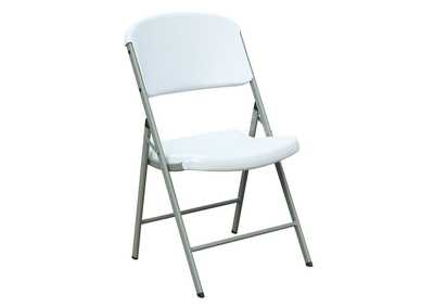 Image for White Foldable Chair