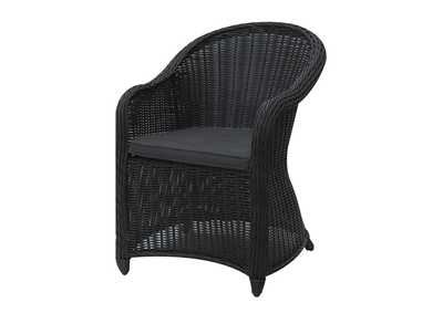 Image for Black Arm Chair