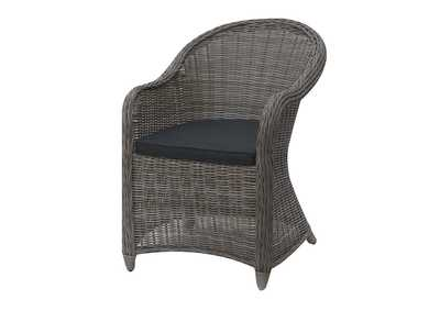 Image for Light Grey Arm Chair