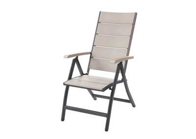 Image for White/Grey Foldable Chair