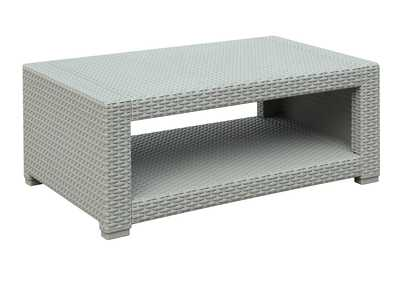 Image for Light Grey Outdoor Cocktail Table