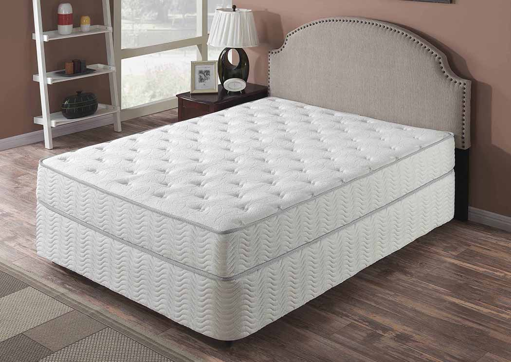 "Galaxy 9"" Plush Top Pocket Coil Full Mattress,Primo International"