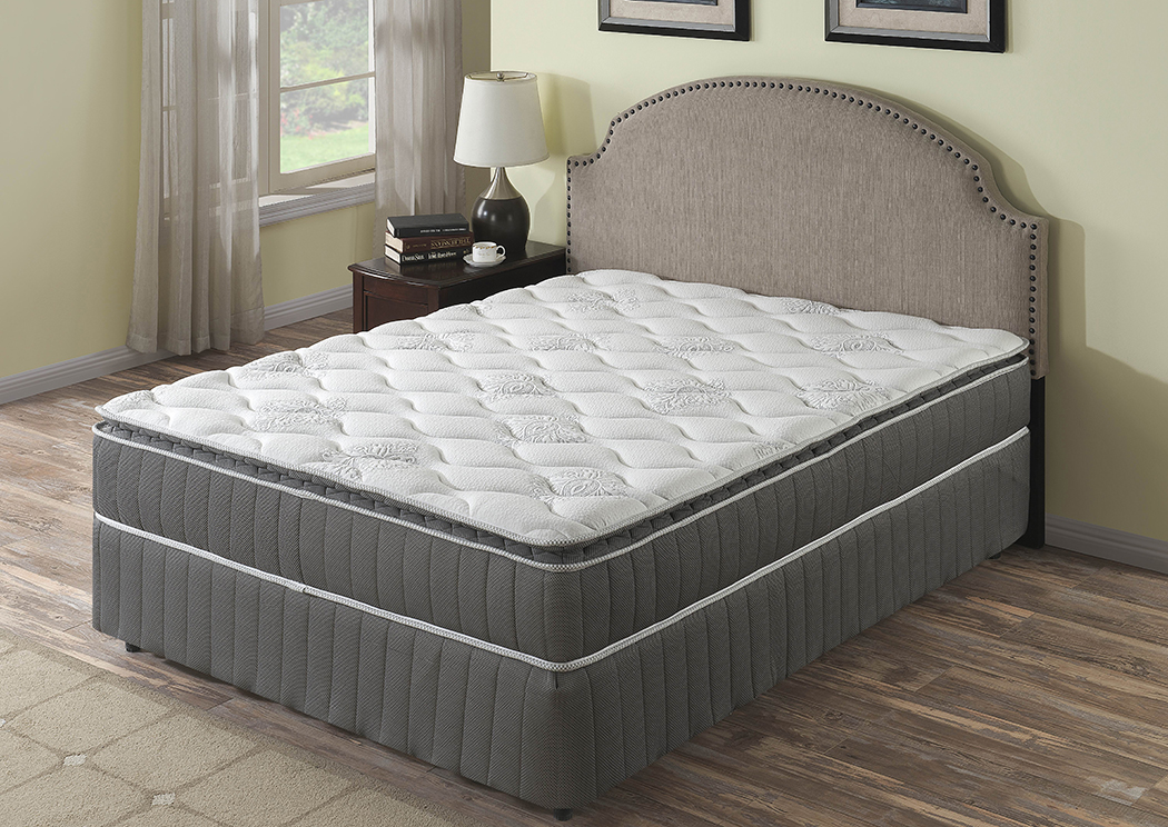 "Orion 10.5"" Pillow Top Pocket Coil King Mattress,Primo International"