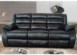 Image for Aubrey Cognac Motion Sofa