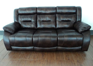 Image for Diaz Cognac Motion Sofa