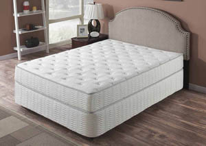 "Galaxy 9"" Plush Top Pocket Coil Full Mattress"