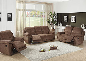 Image for Gaudi Espresso Reclining Sofa & Loveseat
