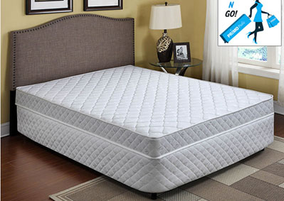"Image for 7"" Pluto Bonnel Coil Queen Mattress"