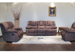 Image for Sykon Reclining Sofa, Loveseat & Chair