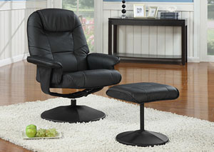 Image for TC 802 Swivel Recliner & Ottoman