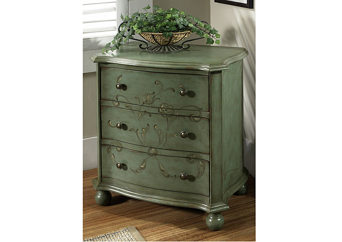 Green Accent Chest,Pulaski Furniture
