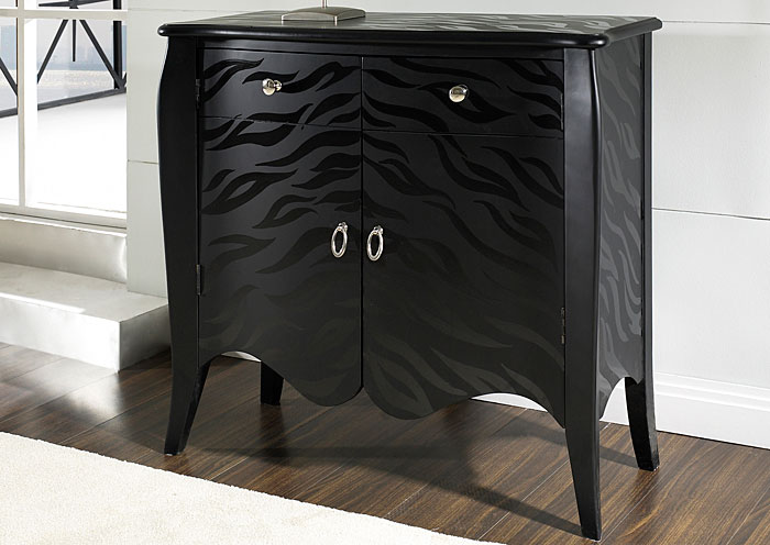 Black Accent Chest,Pulaski Furniture
