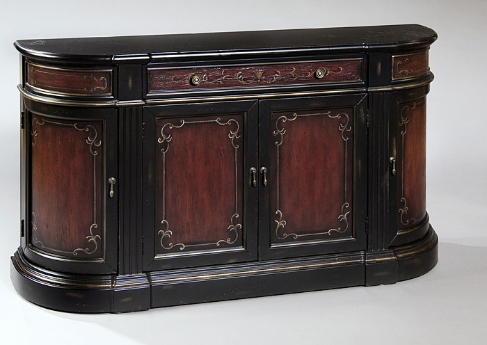Cherry Credenza,Pulaski Furniture