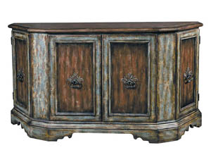 Monaco Weathered Brown Credenza