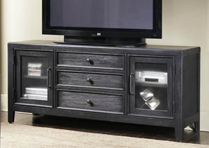 Image for Vintage Tempo Grey Media Console