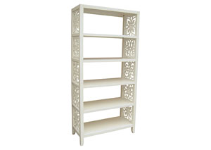 Image for White Bookcase