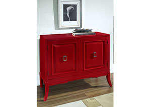Red Accent Chest