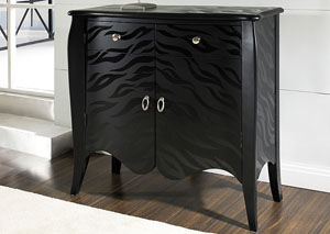 Black Accent Chest