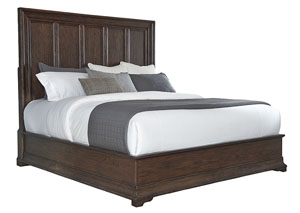 Lindale Oak Queen Platform Bed
