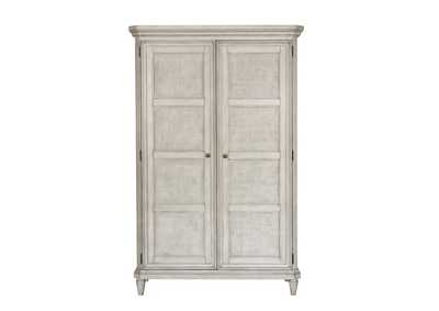 Image for Linen Grace 4 Drawer Armoire