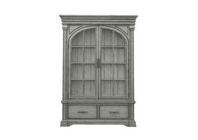 Image for Madison Ridge Light Grey Wooden China Cabinet