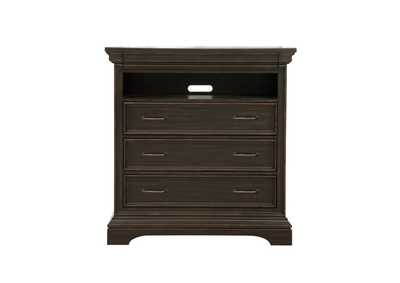 Image for Caldwell 4 Drawer Media Chest