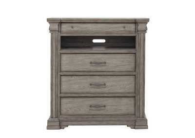 Image for Madison Ridge 3 Drawer Media Chest in Heritage Taupe