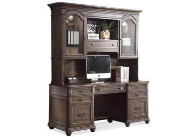 Image for Belmeade Oak Crendenza w/Hutch