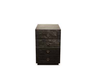 Image for Perspectives Black Mobile File Cabinet