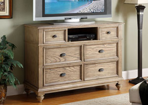 Image for Conventry Weathered Driftwood Entertainment Chest