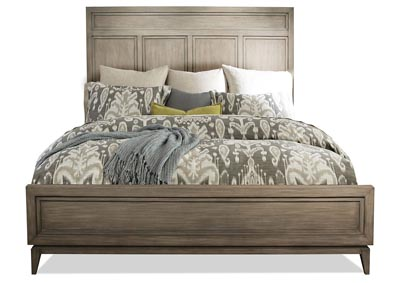 Image for Vogue Gray Wash King Panel Bed