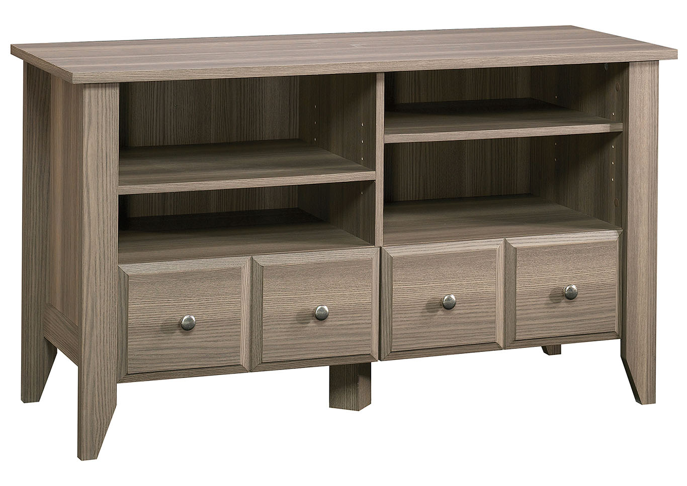 Shoal Creek Panel Diamond Ash Tv Stand,Sauder
