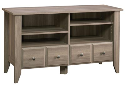 Shoal Creek Panel Diamond Ash Tv Stand