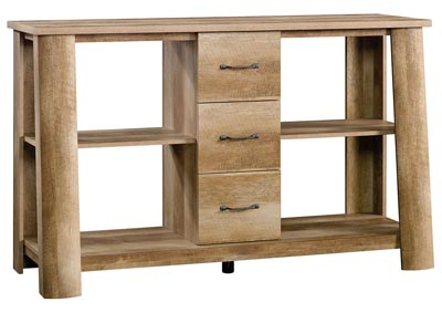 Boone Mountain Craftsman Oak Credenza