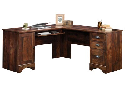Harbor View Curado Cherry Corner Computer Desk