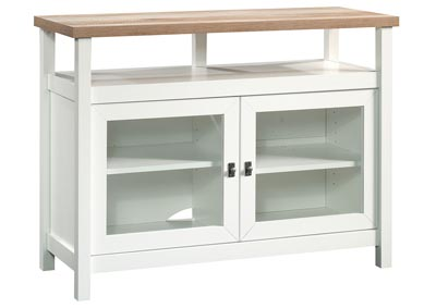 Cottage Road Soft White Entertainment Stand