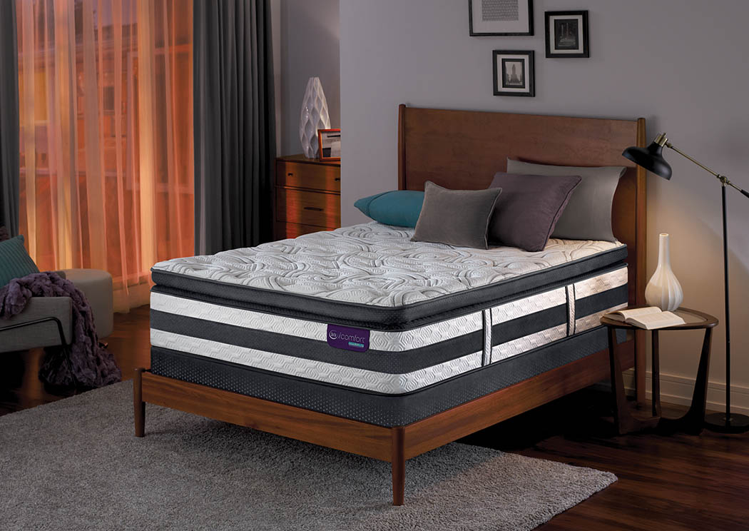 iComfort Advisor Super Pillow Top Queen Mattress,Serta Mattress