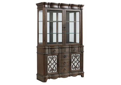 Image for Parliament Brown China Cabinet
