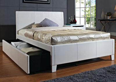 Image for Fantasia White Twin Trundle Bed