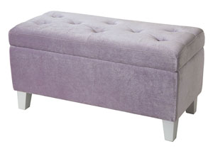 Image for Young Parisian Lavender Storage Bench
