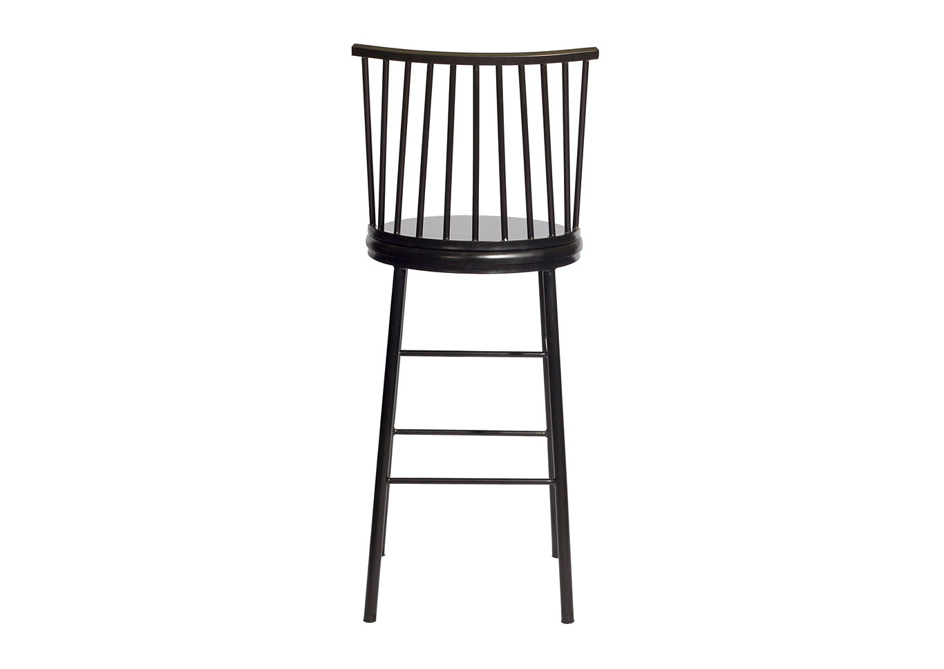 Frida Black Counter Stool [2/ctn],Steve Silver