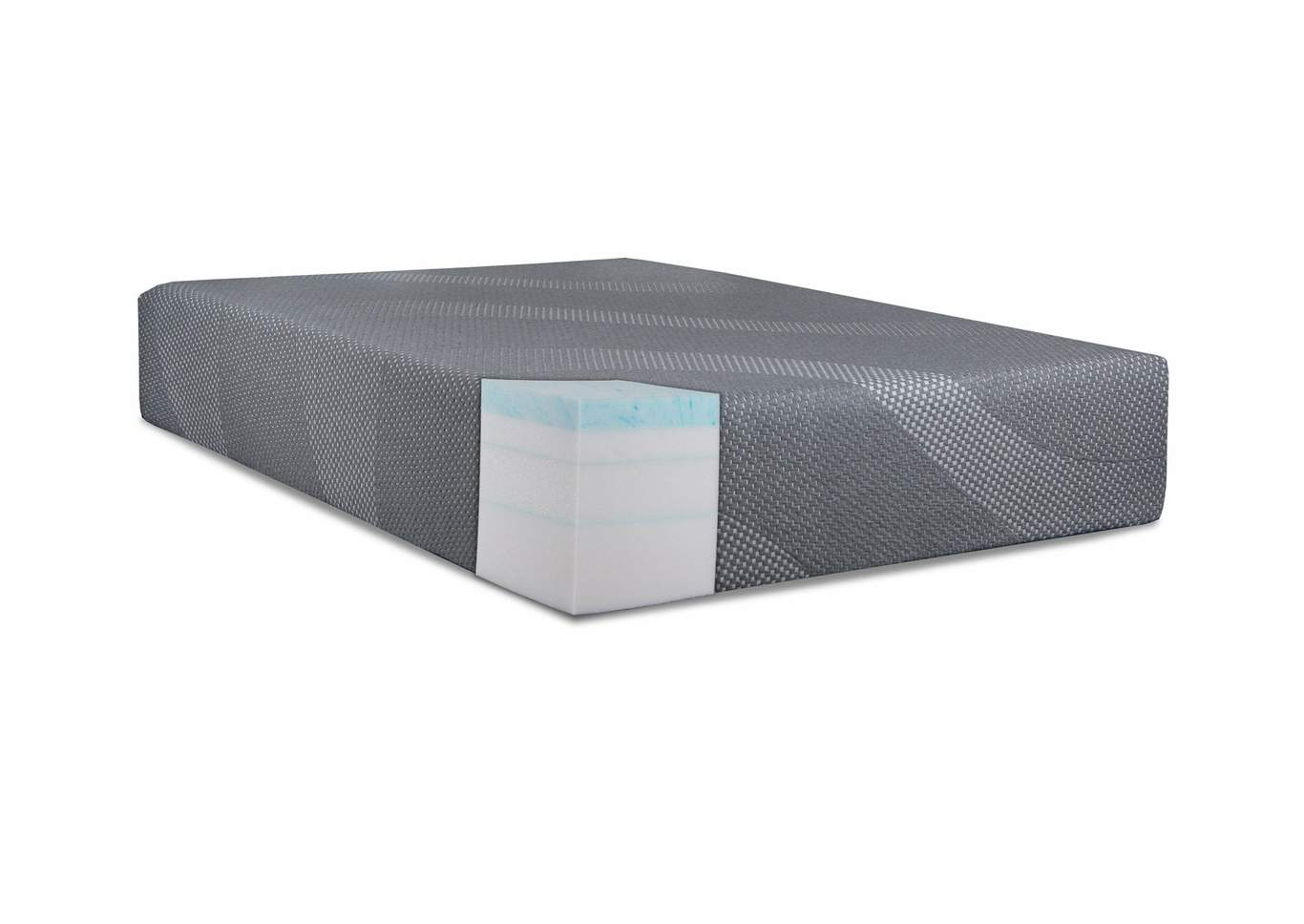 "Recharge Grey 14"" Queen Mattress,Steve Silver"