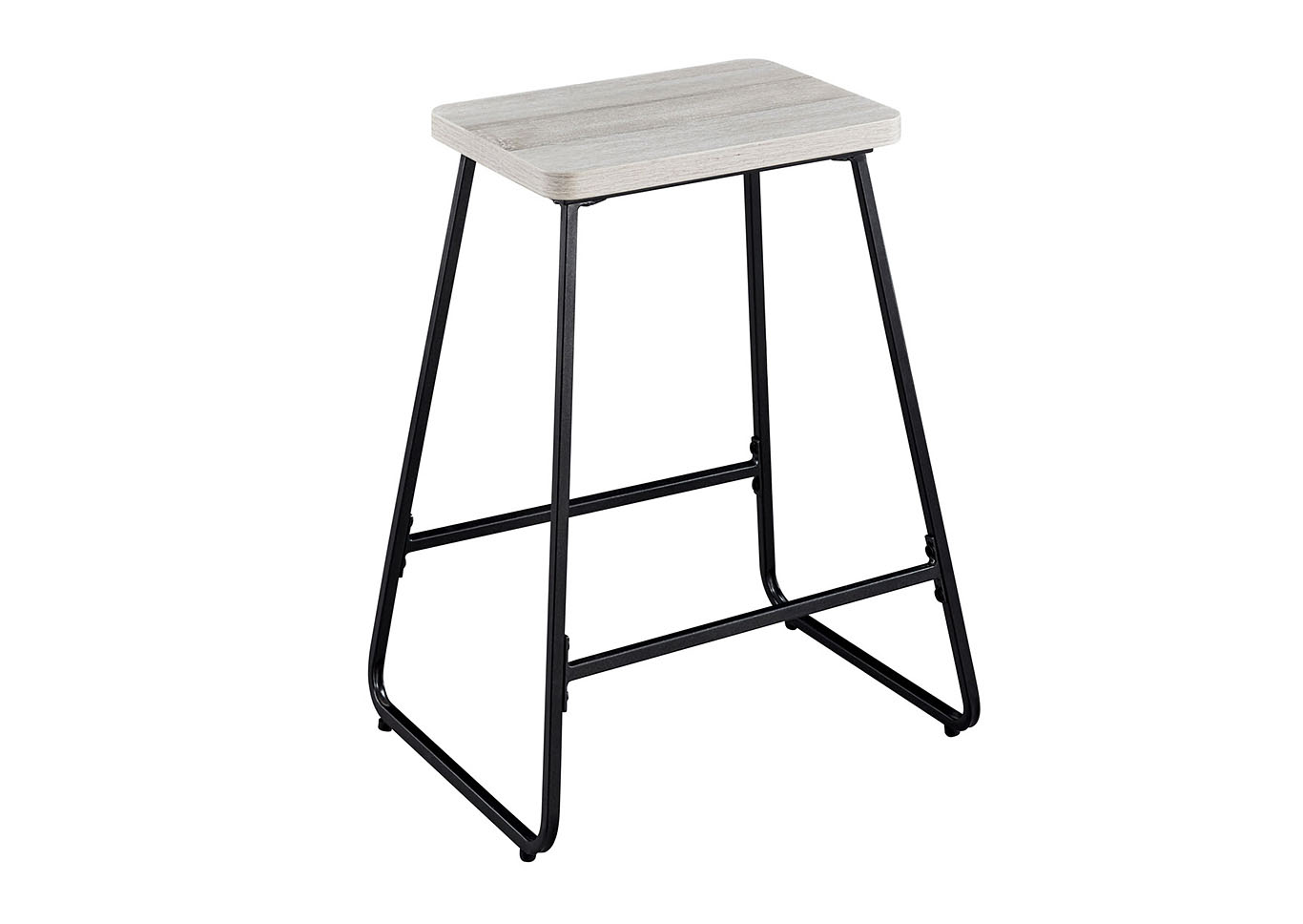 Carson Weathered Driftwood Counter Stool [2/ctn],Steve Silver