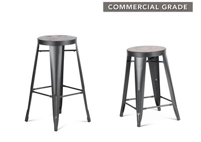 Park Avenueer Grey Counter Stool [2/ctn]