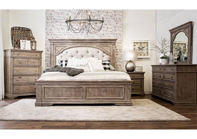 Image for Highland Park Avenue Waxed Driftwood Panel King Bed
