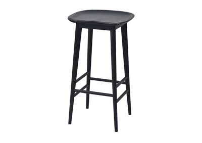 Image for Hilton Black Counter Stool