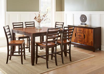 Image for Abaco Brown Counter Dining Table