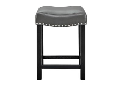 Image for Aspen Grey PU Counter Stool [2/ctn]