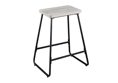 Image for Carson Weathered Driftwood Counter Stool [2/ctn]