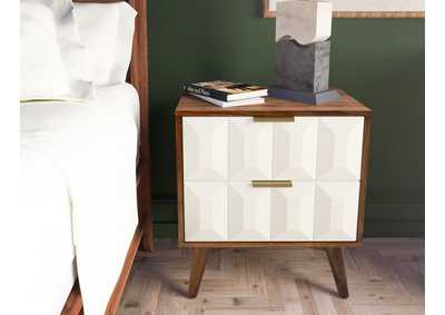 Image for Ginny White Nightstand